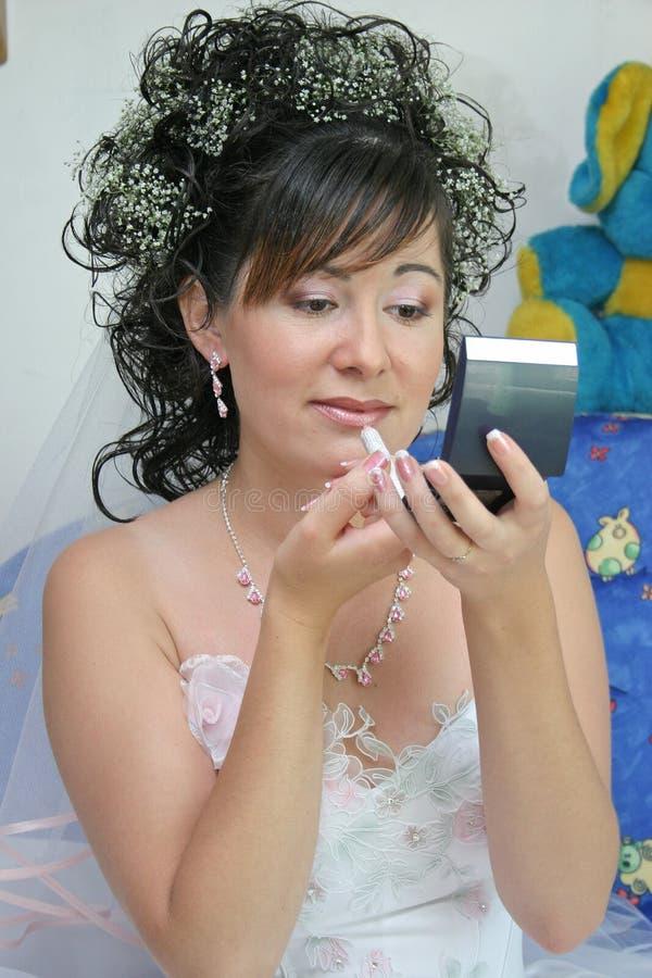 Hübsche Braut stockfoto
