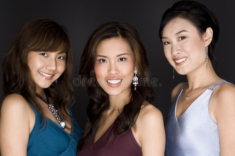 Hübsche Frauen lizenzfreies stockfoto