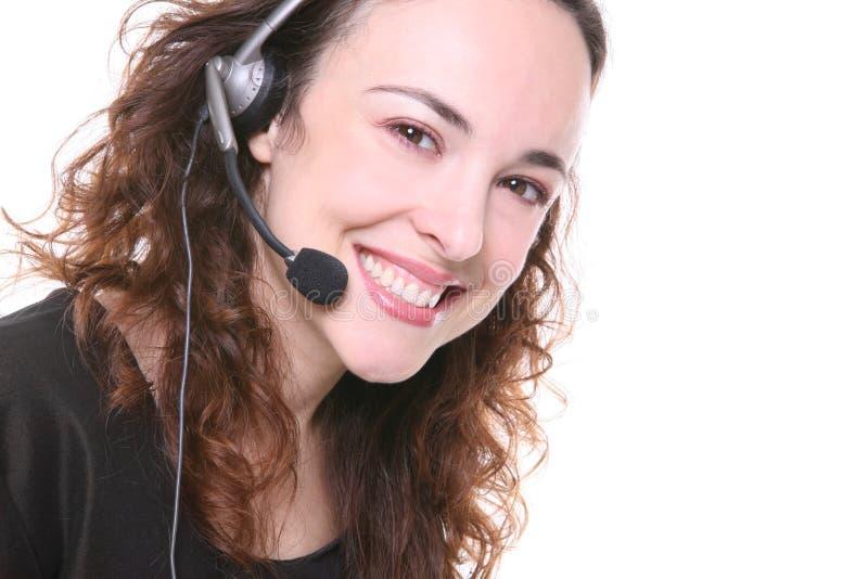 Hübsche Geschäftsfrau lizenzfreies stockfoto