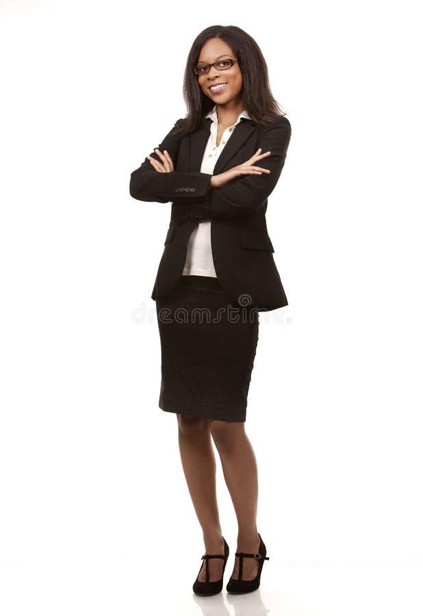 Hübsche Geschäftsfrau stockbilder