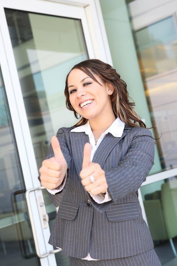 Hübsche hispanische Geschäftsfrau lizenzfreie stockfotografie