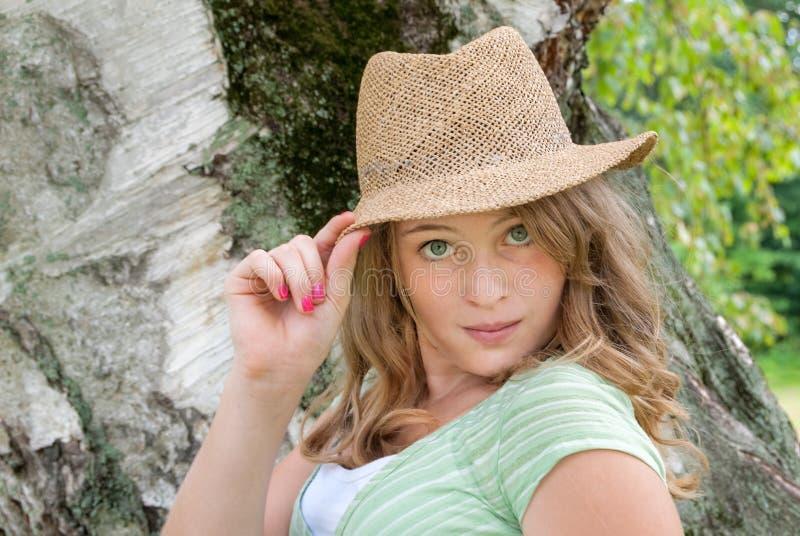 Hübsche Jugendliche lizenzfreie stockfotografie