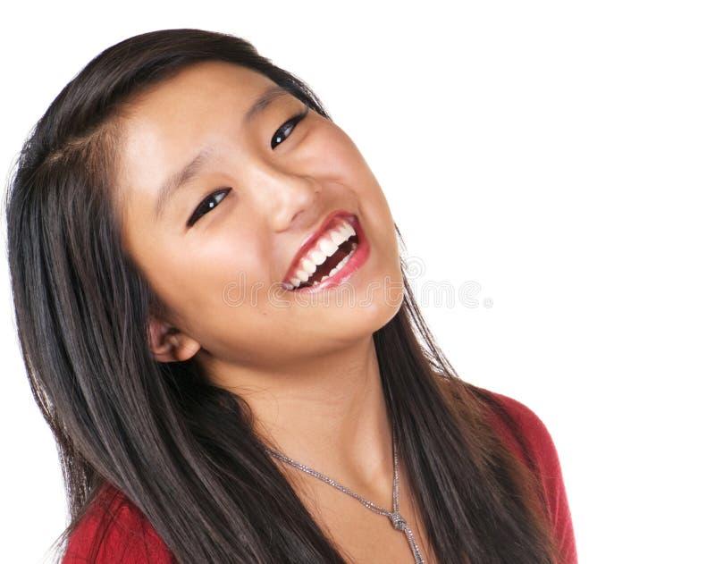 Hübsche Mädchen-Freude stockbilder