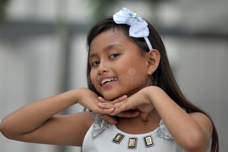 Hübsche schöne Minderheits-Person lizenzfreies stockfoto