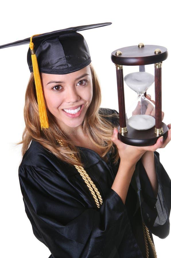 Hübscher Absolvent lizenzfreies stockbild