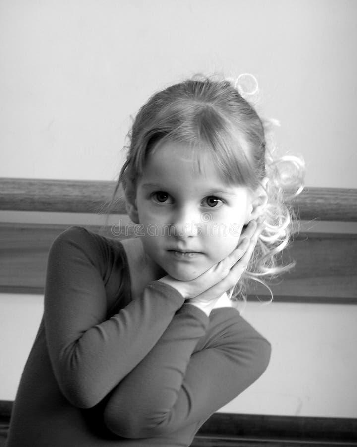 Hübscher Ballerina-Tänzer lizenzfreie stockbilder