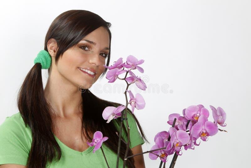 Hübscher Gärtner lizenzfreies stockbild