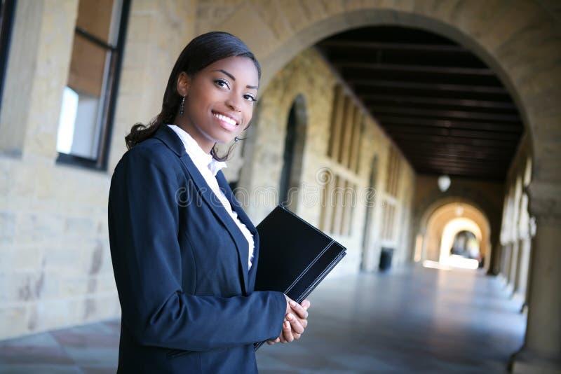 Hübscher Hochschulstudent lizenzfreies stockbild