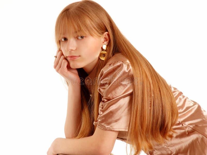 Hübscher Jugendlicher lizenzfreies stockfoto
