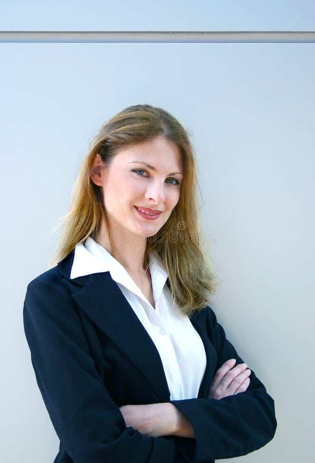 Hübsches Businesswoman-2 lizenzfreie stockbilder