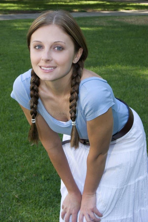 Hübsches Mädchen lizenzfreies stockfoto
