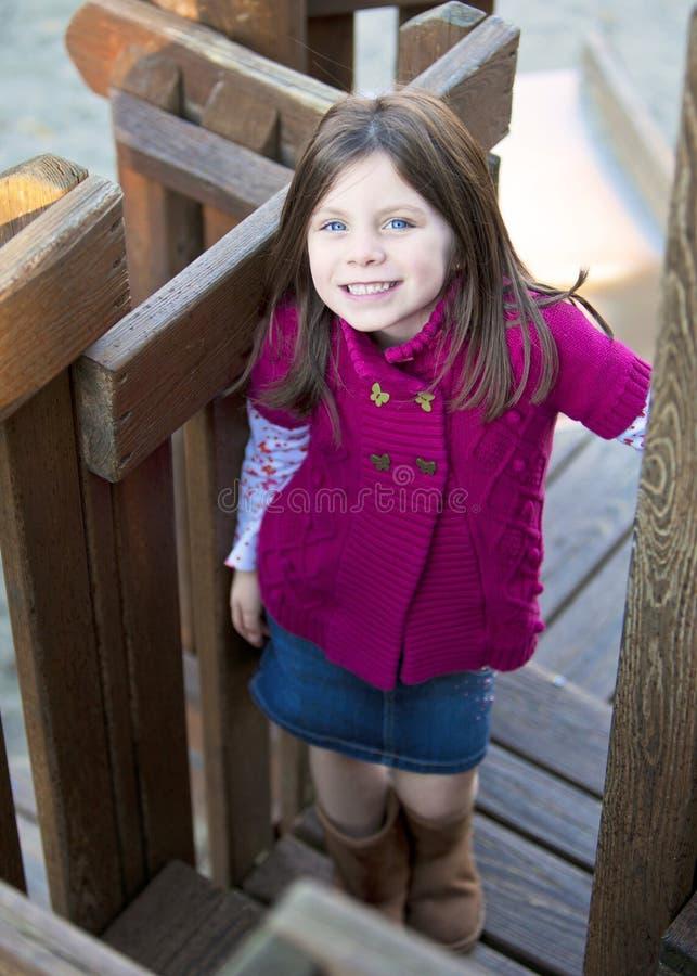 Hübsches Mädchenporträt stockbilder