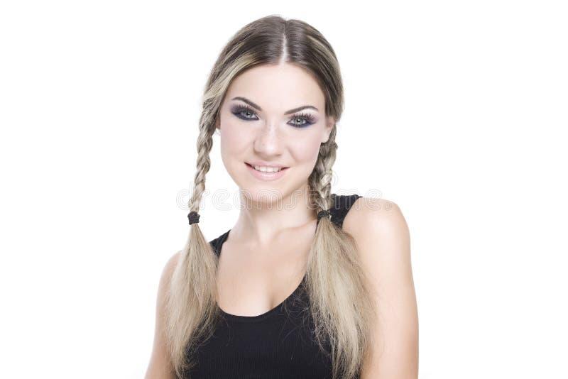 Hübsches Mädchenportrait lizenzfreie stockbilder