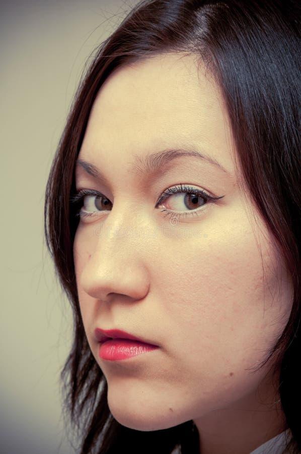 Hübsches Portrait stockbilder