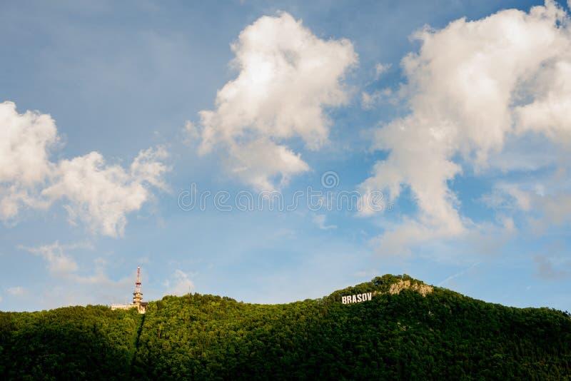 Hügel Brasov Tampa stockfotografie