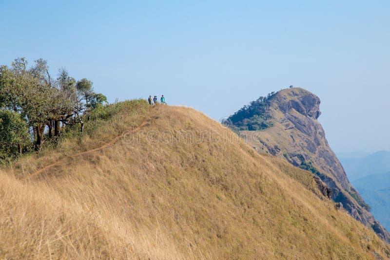 Hügel Doi Montag Jong in ChiangMai, Thailand stockbilder