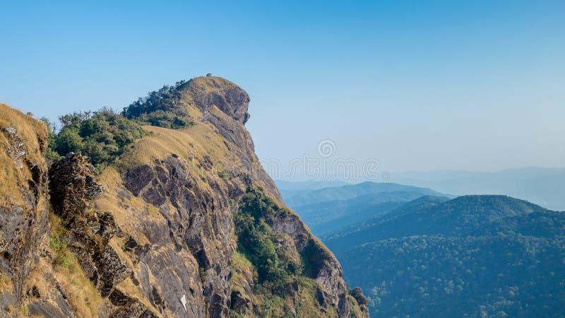 Hügel Doi Montag Jong in ChiangMai, Thailand stockfotografie
