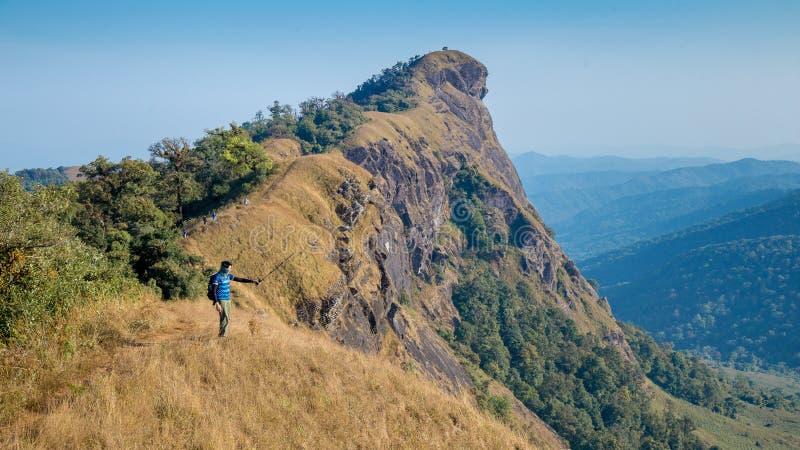 Hügel Doi Montag Jong in ChiangMai, Thailand lizenzfreies stockbild