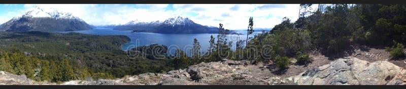 Hügel gelegen im Patagonia Argentinien stockfoto