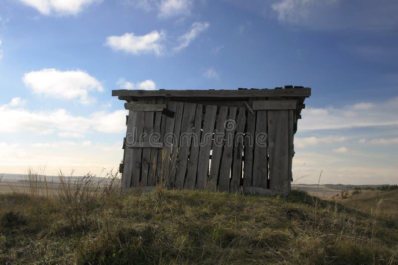 Hügel-Haus ruhig lizenzfreies stockbild