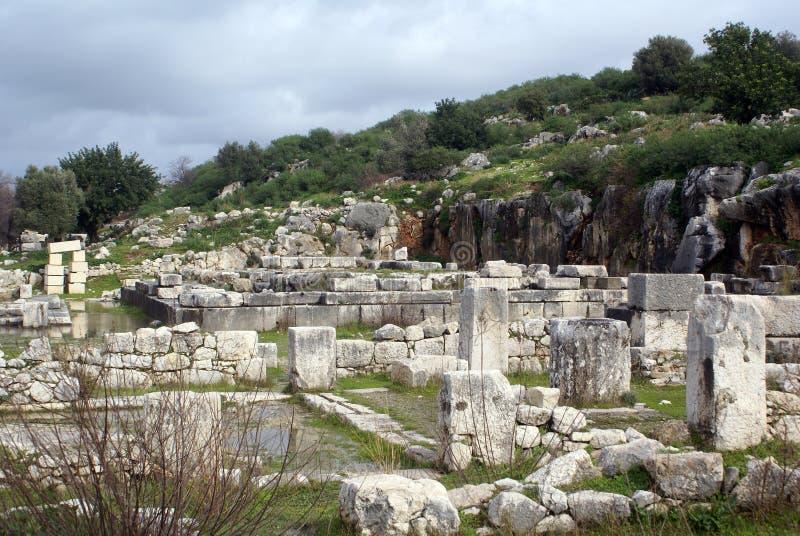 Download Hügel und Ruinen stockbild. Bild von anatolia, arten, religion - 9098067