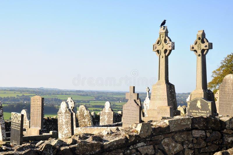 Hügel von Slane Irland lizenzfreies stockbild