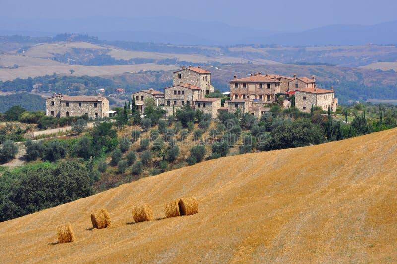 Hügel von Toskana, Italien stockfoto