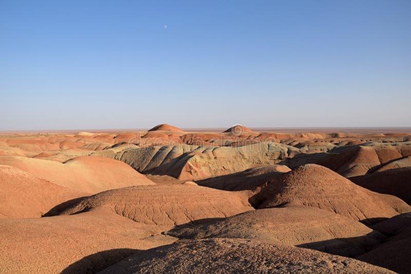 Hügelige Wüste, zentrale Wüste vom Iran stockbild
