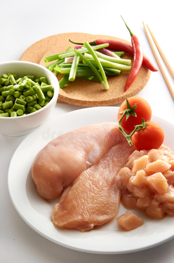 Hühnchen-Brust lizenzfreies stockfoto
