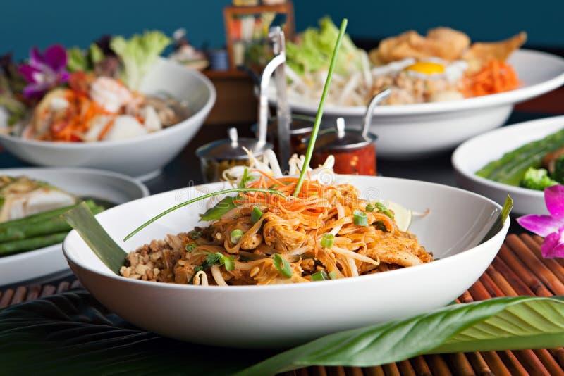 Hühnerauflage thailändisch stockbild