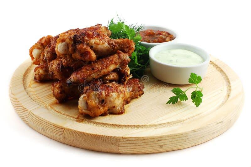 Hühnerbeine stockfotografie