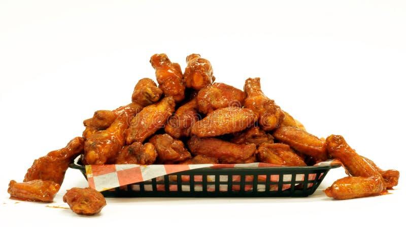 Hühnerflügel lizenzfreies stockbild