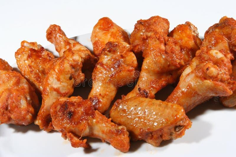 Hühnerflügel lizenzfreie stockfotografie