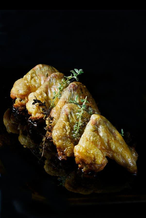 Hühnerflügel III lizenzfreie stockbilder