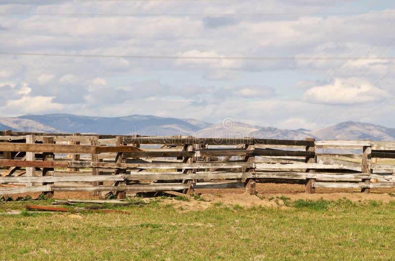 Hürde-Zaun lizenzfreie stockfotografie