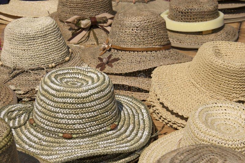 Hüte, Hüte, Hüte lizenzfreie stockbilder