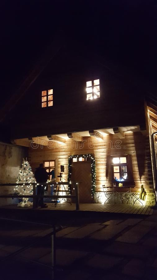 Hütte stock photo