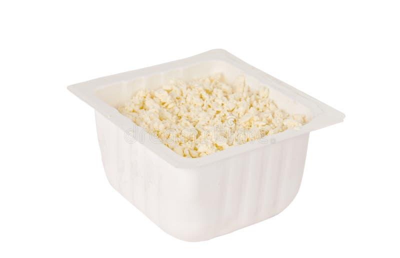 Download Hüttenkäse stockbild. Bild von häuschen, käse, mahlzeit - 27729489