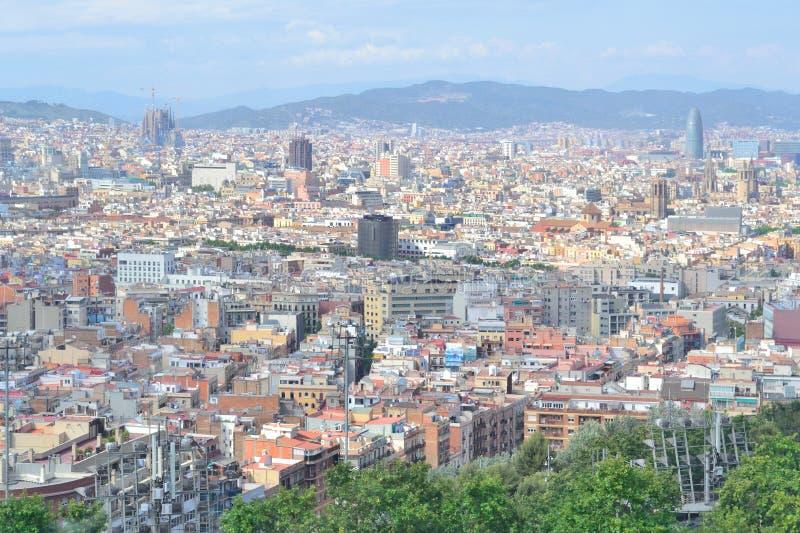 H?chst-Ansicht von Barcelona lizenzfreie stockfotografie