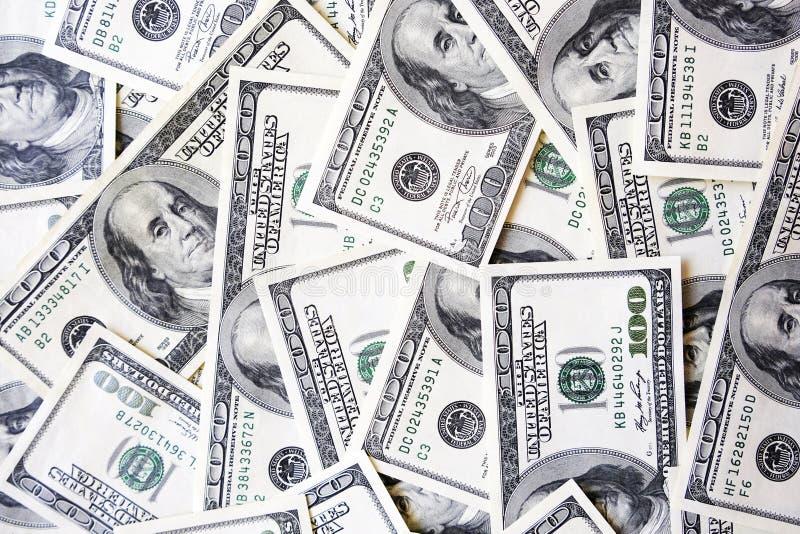 H?g av USA sedeltextur H?g av amerikansk pengarbakgrund fakturerar dollaren royaltyfria bilder