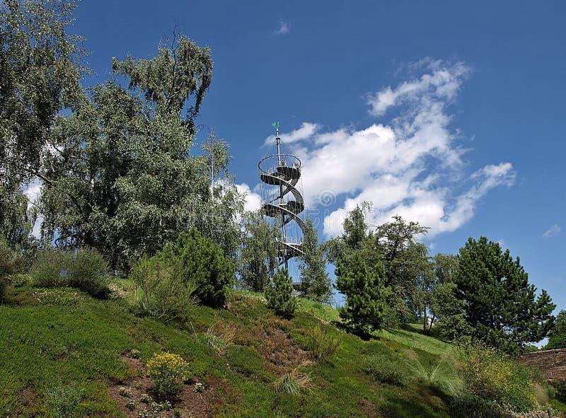 H?henpark bonito Killesberg em Estugarda em Alemanha imagens de stock