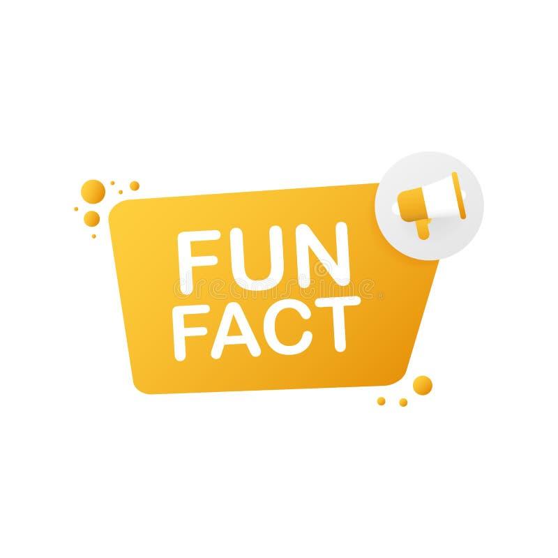 H?llande megafon f?r hand - roligt faktum ocks? vektor f?r coreldrawillustration royaltyfri illustrationer