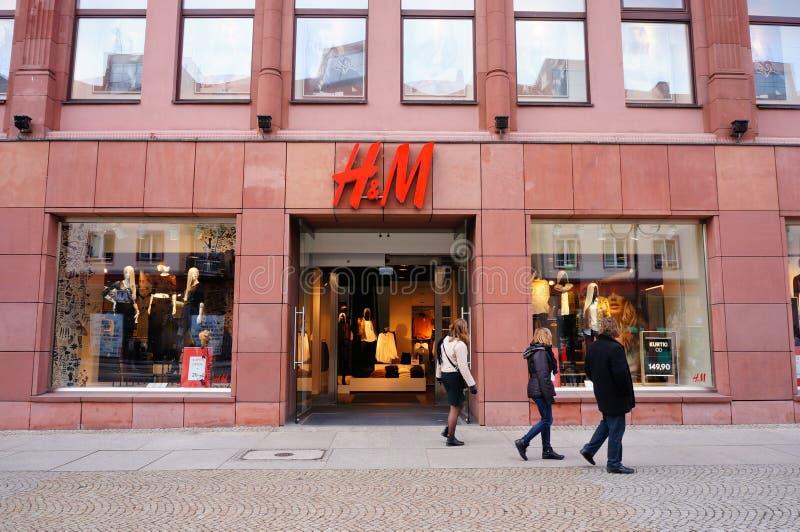 H&M商店 图库摄影