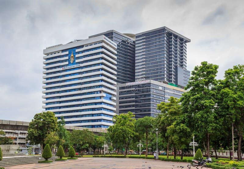 H M. Edificio della regina Sirikit nell'ospedale di Chulalongkorn fotografia stock