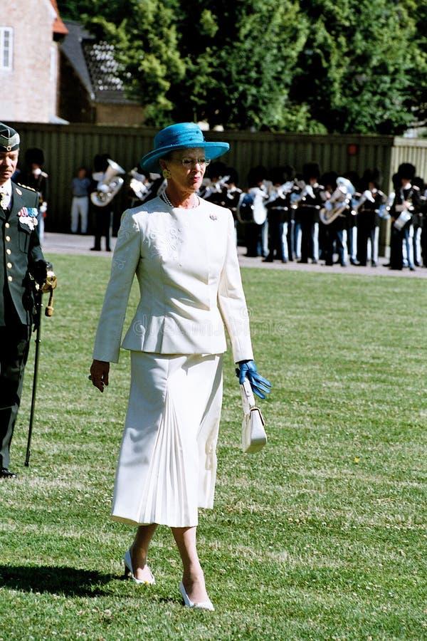 H M LA REINE MARGRETHE ET PRINCE HENRIK OF DANEMARK photo libre de droits