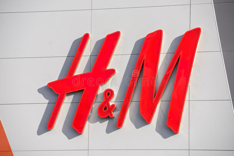 H&M logo editorial image. Image of sign, luxury, trade ...