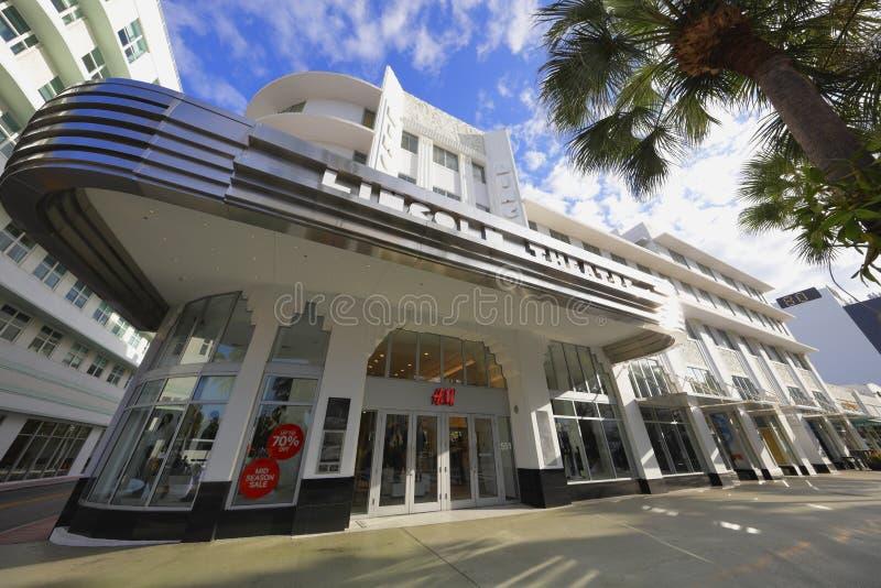H&M Miami Beach стоковые изображения