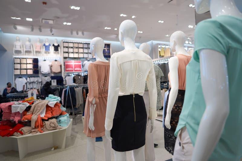 H&M opslag royalty-vrije stock afbeelding
