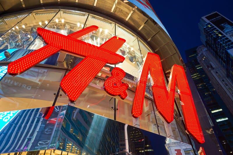 H&M opslag stock afbeeldingen