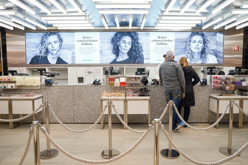 H&M opslag royalty-vrije stock fotografie